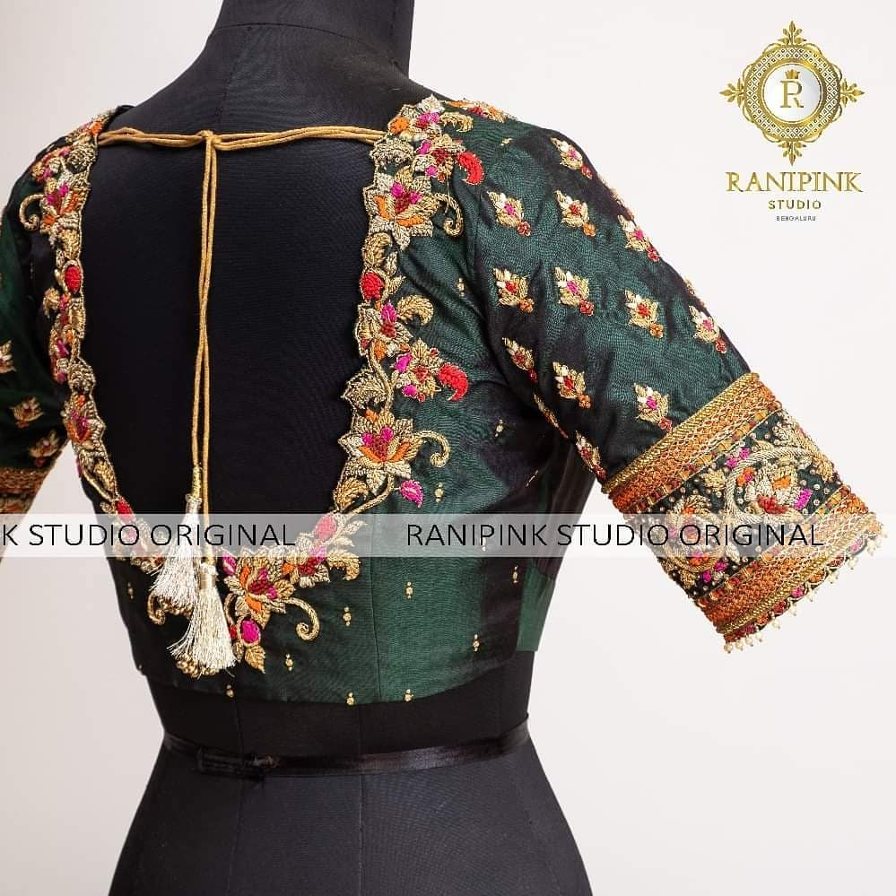 This gorgeous Muhurutham Blouse is blowing our mind away. 2020-08-10