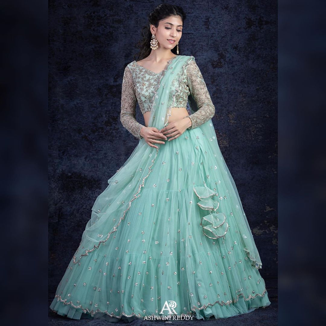 Easy Breezy Tulle Embroidered Lehengas.. all for you! 2020-09-10
