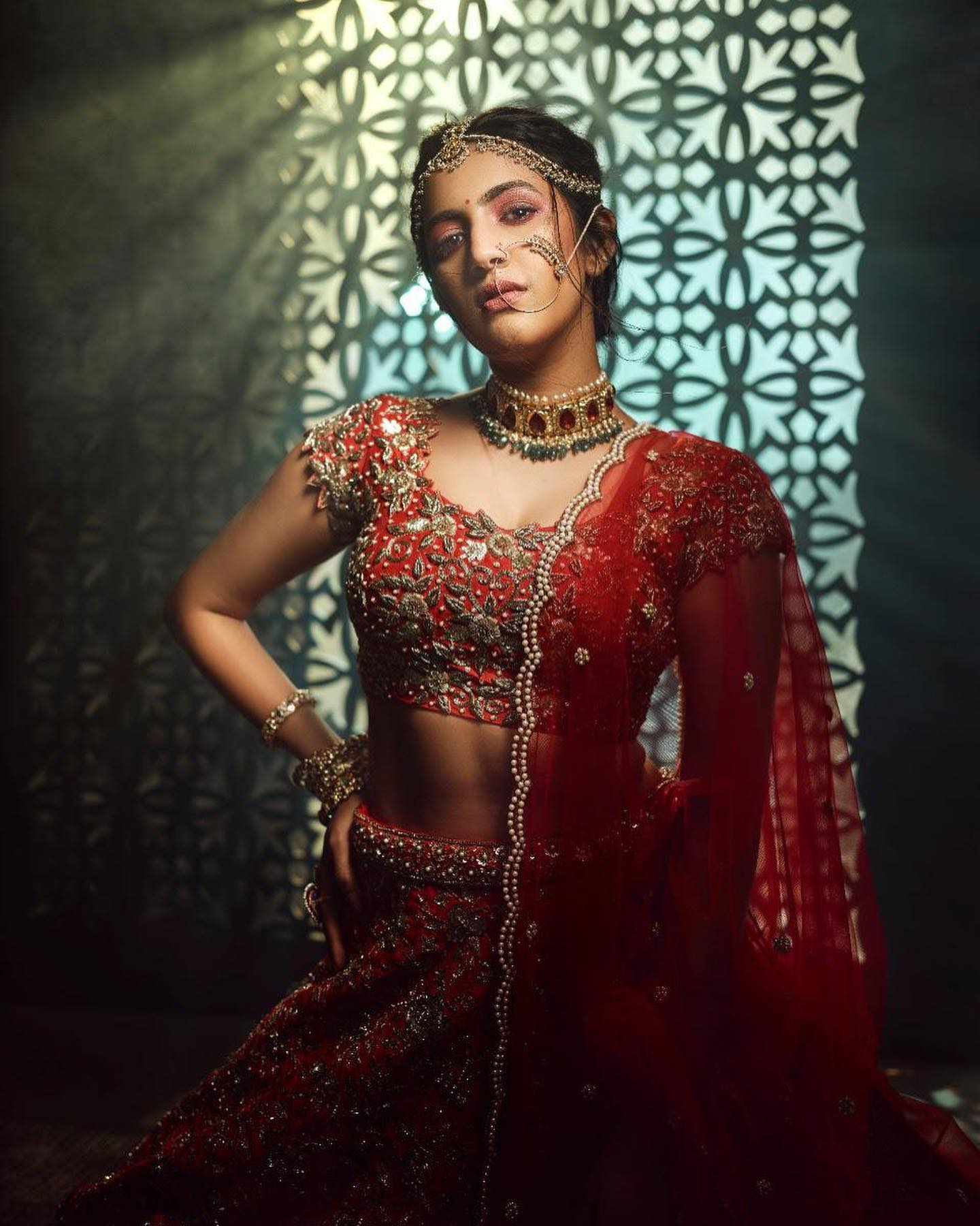 This stunning bride-to-be 