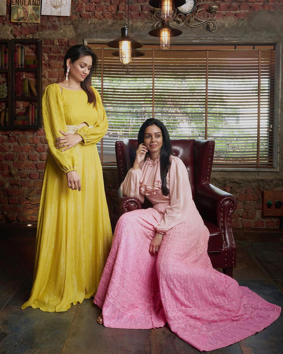 Señora Stories capturing tales of today's woman through her style strength and serenity. Padmaja Penametsa  founder of @padmaja.align wearing our one of the latest collection Señora Collections. | indo western dresses | western fusion dresses | indo western dresses plus size | 2020-11-13