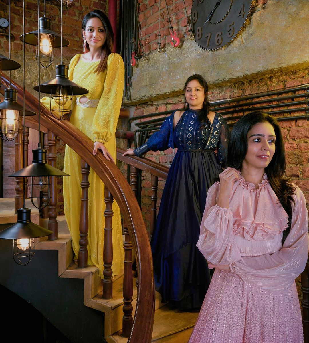 Sennora Stories capturing tales of today's woman through her style strength and serenity. Issa studio out fit.   latest party wear indo western dresses for ladies   indo western womenswear   red indo western gown   2020-11-21