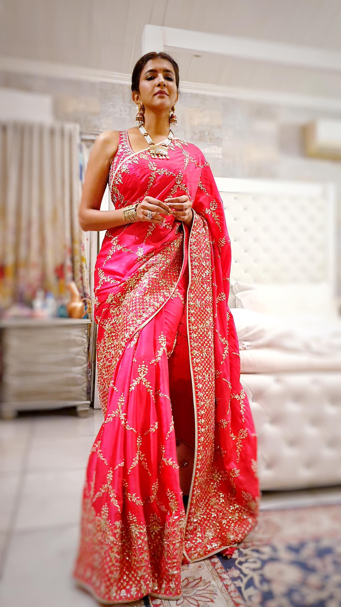 Girls feel prettiest wearing pink and I was no exception 