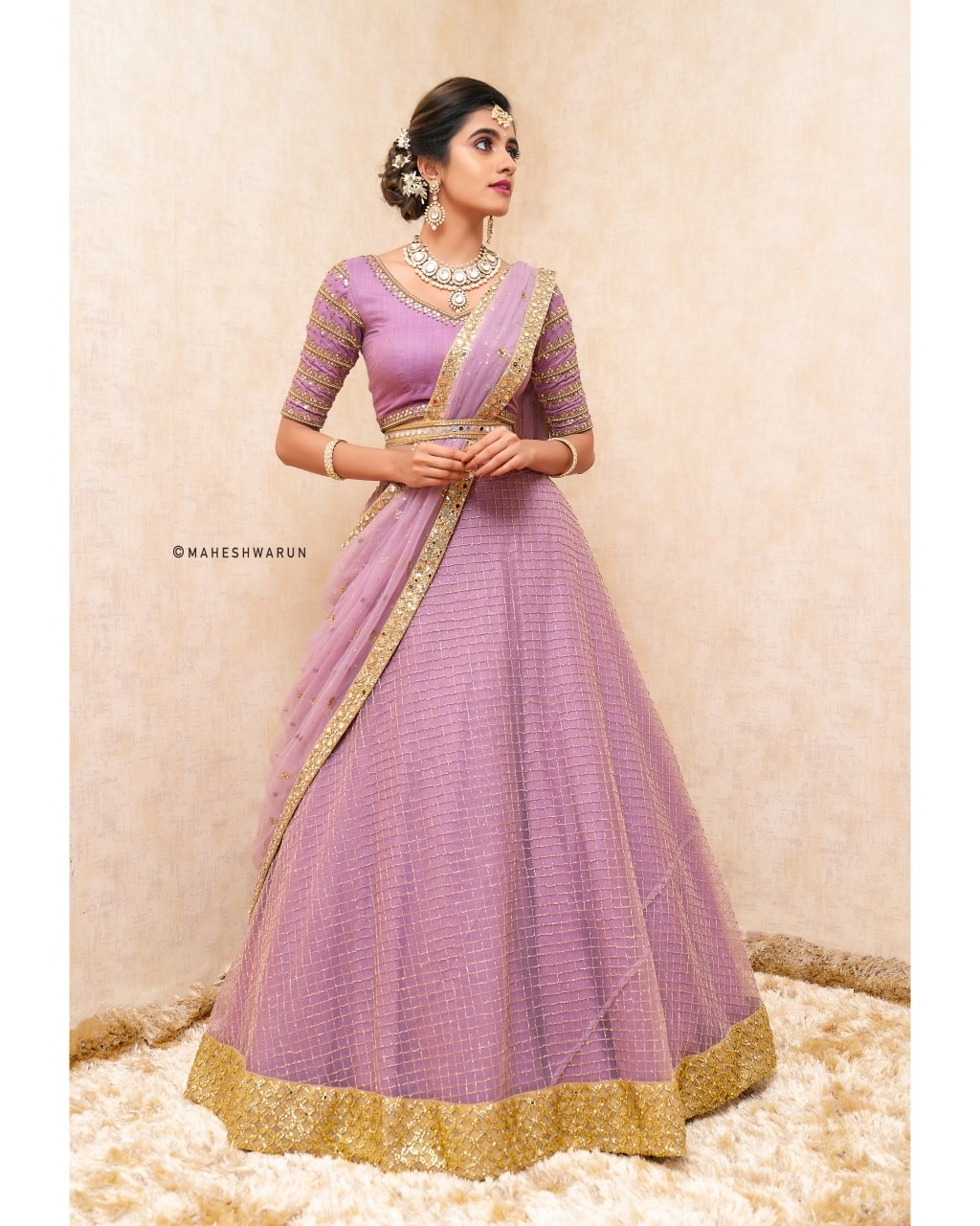 Lavendar Lehanga .