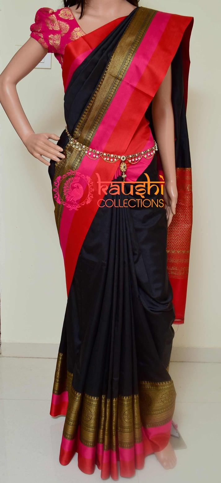 2200/- Handloom Banarsi Katan Silk Saree with Premium Rich Pallu and contrast Blouse WhatsApp for order 9949519207 | red saree online | banarasi chaniya choli | lehenga saree designs with price | 2020-12-04