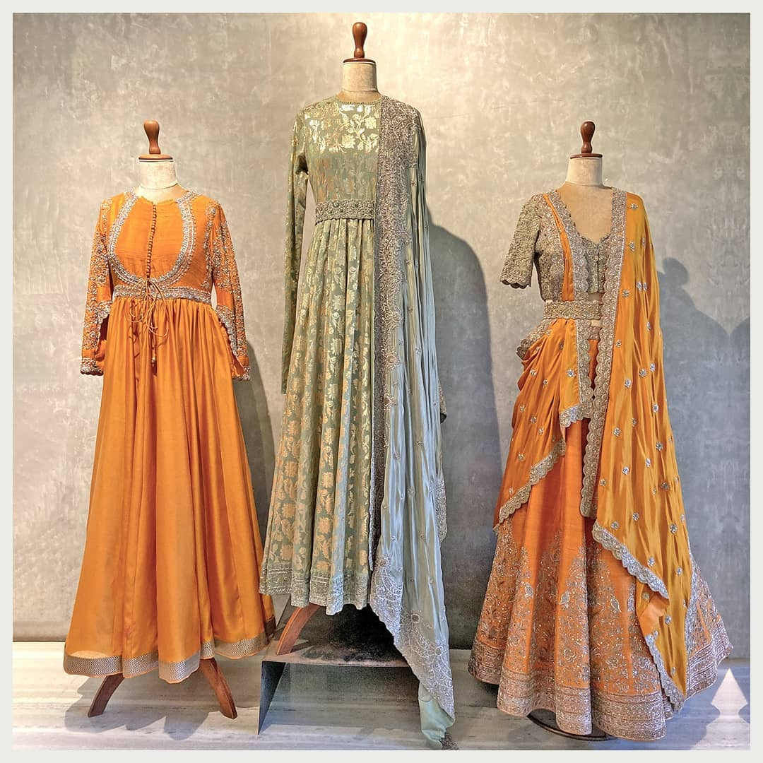 Minimal elegant and an absolute must-have ~ Traditional Indian wear with a statement silhouette and eye-catching embroidery.  Whatsapp  for more details. Hyderabad +91 9121432255 (Neelu) Delhi +91 83739 92273 (Shalini) | full length anarkali | umbrella cut frock suit | anarkali long frock | 2020-12-23