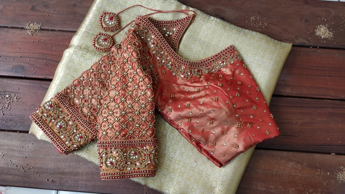 Bridal Blouse .