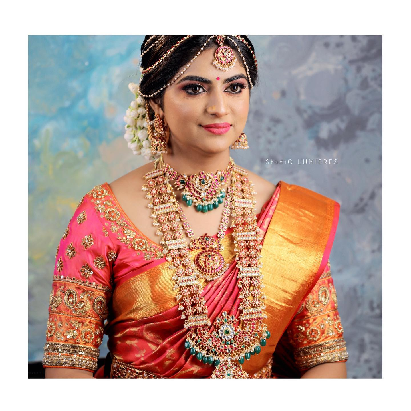 Artistically curated bridal blouses can add an additional charm to the whole bridal look on your Wedding day 2021-01-08