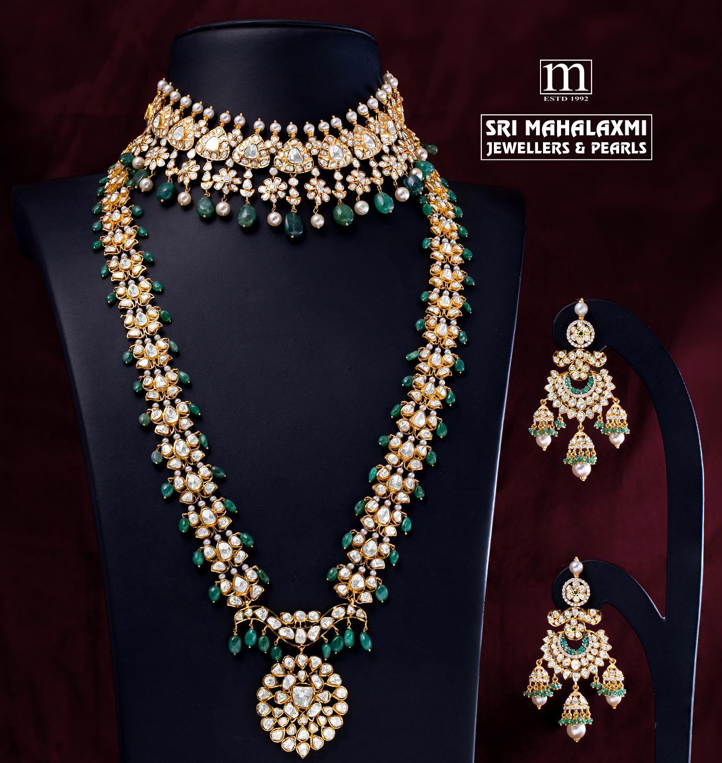 Exquisite Pacchi work jewellery!
