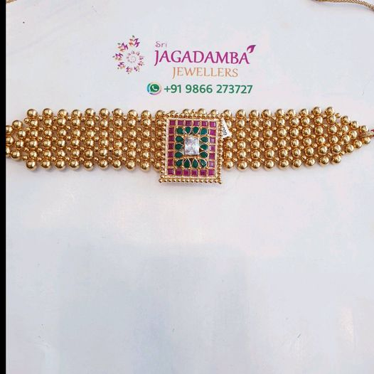 Balls choker from Banisa collection Net 15gm only Buy @ Whatsapp +919866273727 2021-01-21