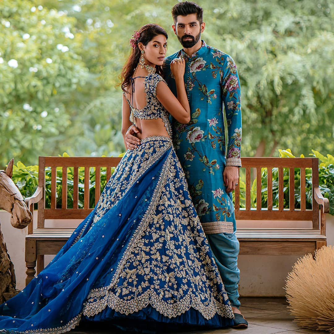 Brides deserve to be at their most beautiful and Anushree Reddy aim is not only to design and produce the perfect outfit but to provide daily inspiration for our Brides-To-Be! 2021-01-21