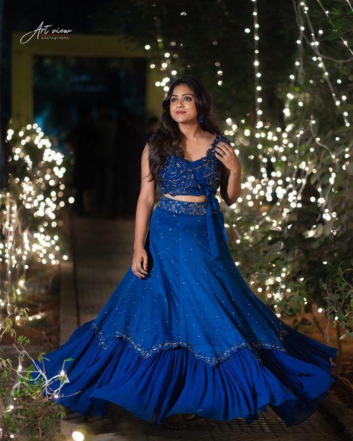 2nd look from vithikasheru  sister's wedding. 2021-01-26