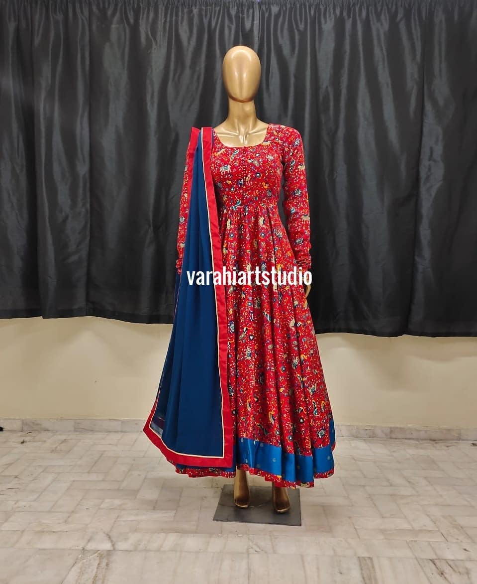 This Outfit is Available at Rs 5800 from Varahi art studio .. They can customise the size as per your Measurements .. .. They have international shipping service too
