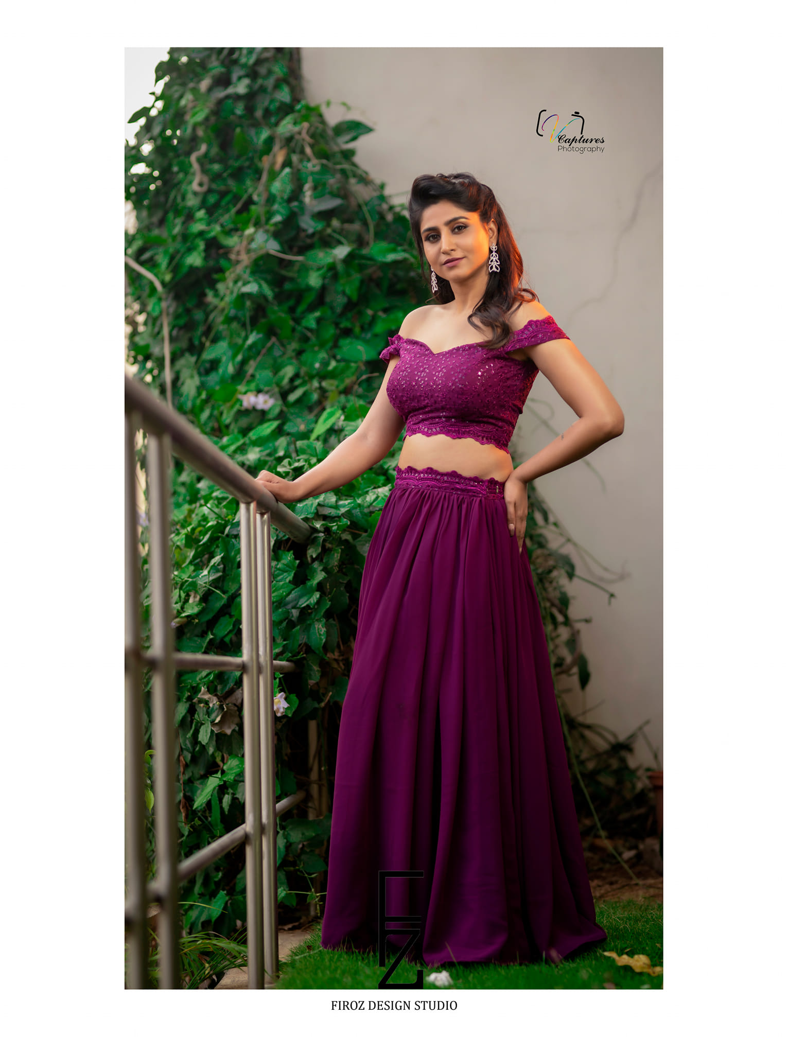Glamorous Goddess Varshini looked beautiful in 