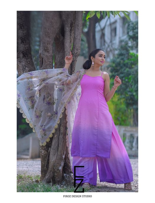 Beautiful and Charming Vindhya Vishaka in Firoz Design Studio Outfit. 2021-02-23
