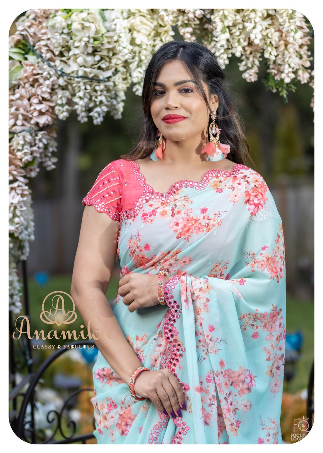 This saree is everything that you could have ever asked for 