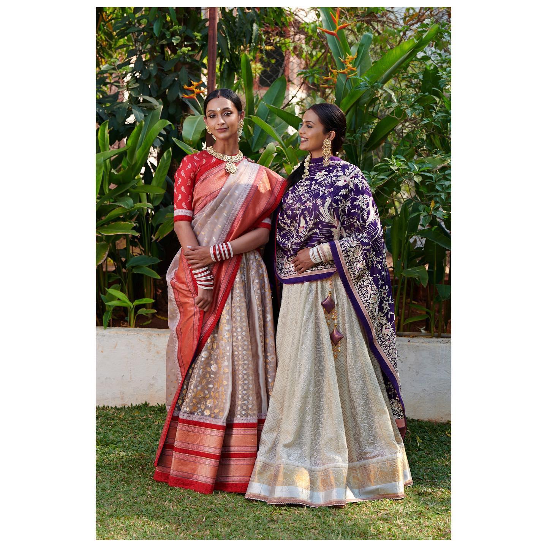 सखी Summer Wedding Edit of Handcrafted Lehengas from Gaurang. Jewellery Courtesy: Kishandas jewellery .. 2021-03-26