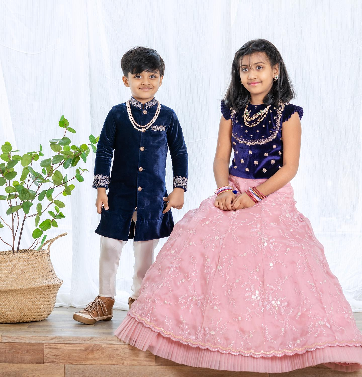 Royal Rascals. Royal kids outfit by Issa Studio. 2021-04-01