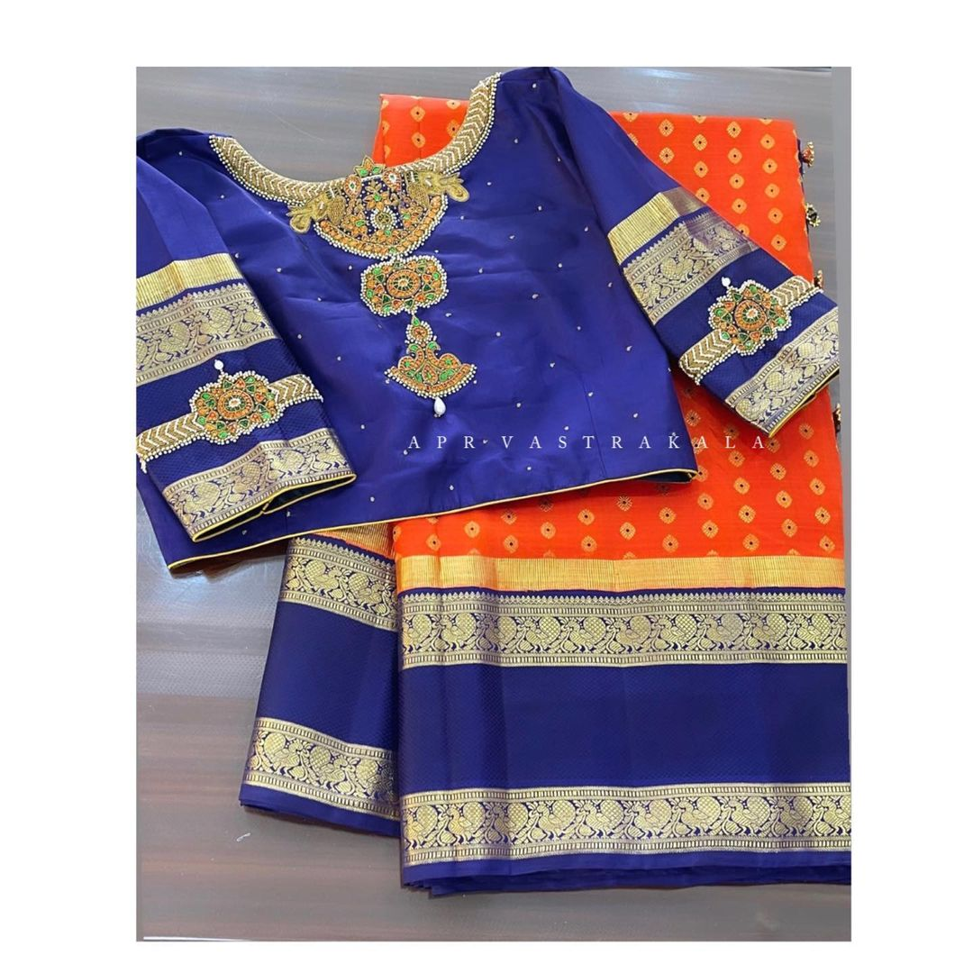 Simple yet appealing designs look way better than we give them credit for. With the right fit your look will be applauded by everybody around you. Kundan detailing done to perfection. 2021-04-01