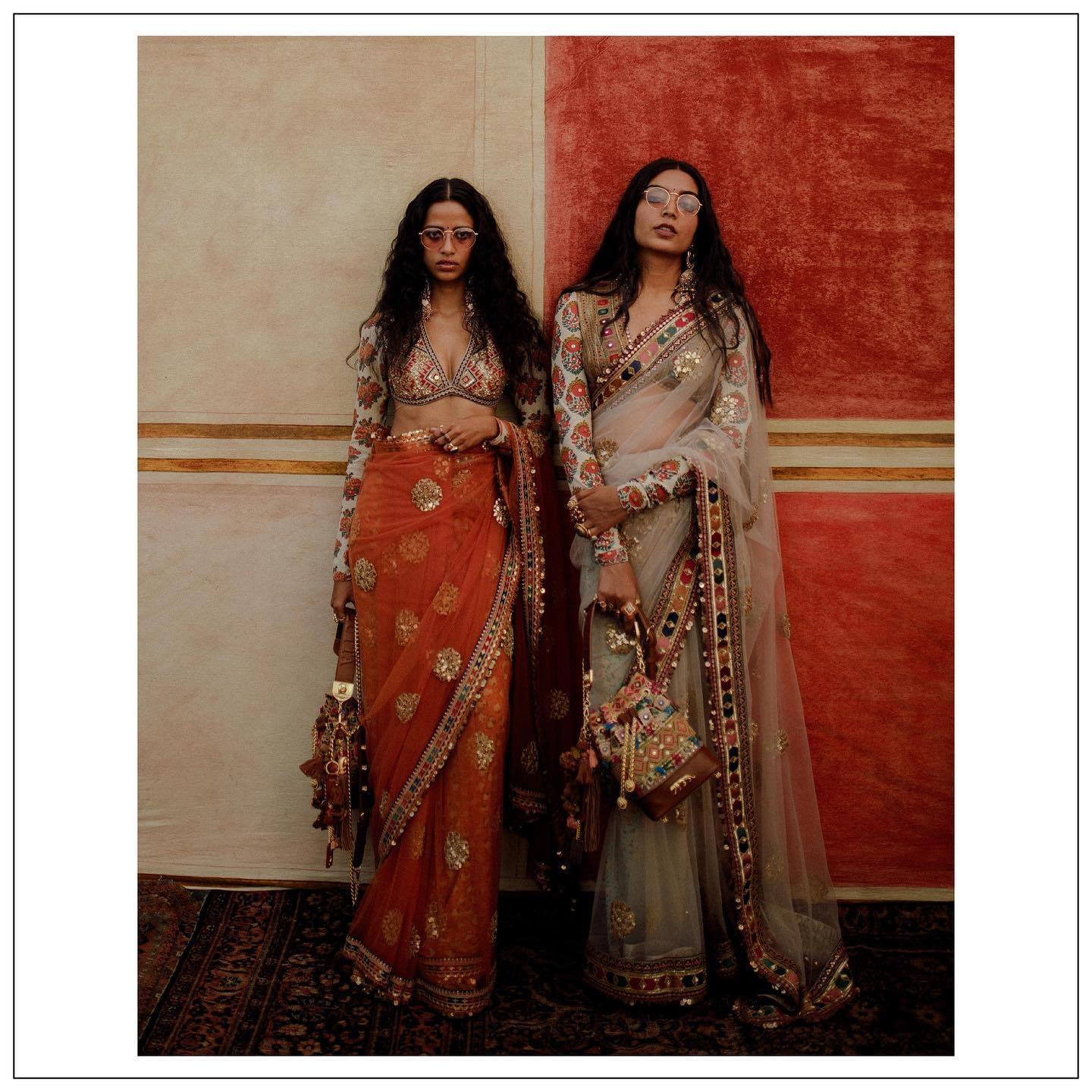 The Sabyasachi 2021 Collection. Beautiful Sabyasachi ORganzza saree.   Womenswear  jewellery Sabyasachi jewelry and accessories Sabyasachi accessories.  For all product related queries  please email at customerservice@sabyasachi.com or contact  retail stores directly. 2021-04-04