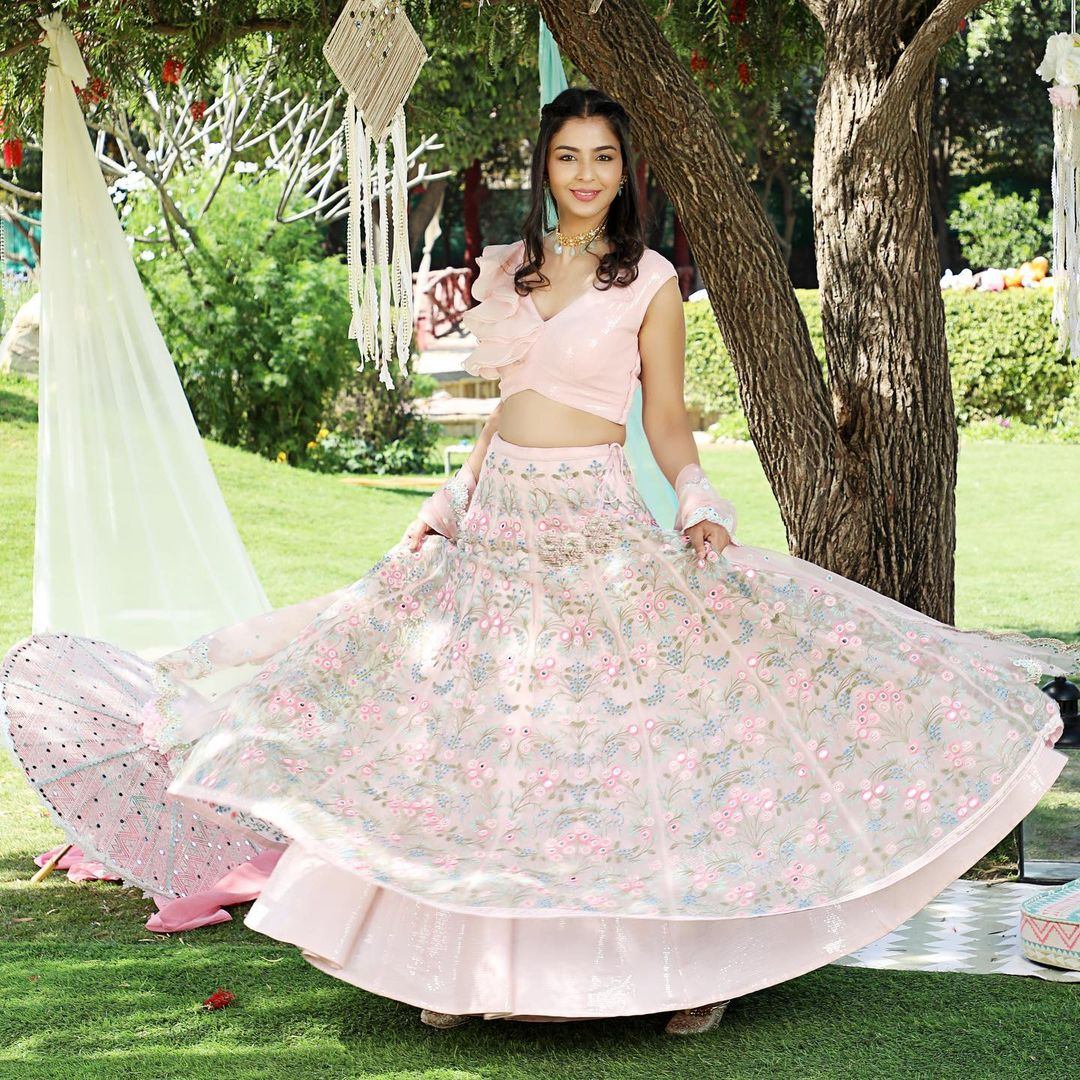 The Garden Lehenga #l