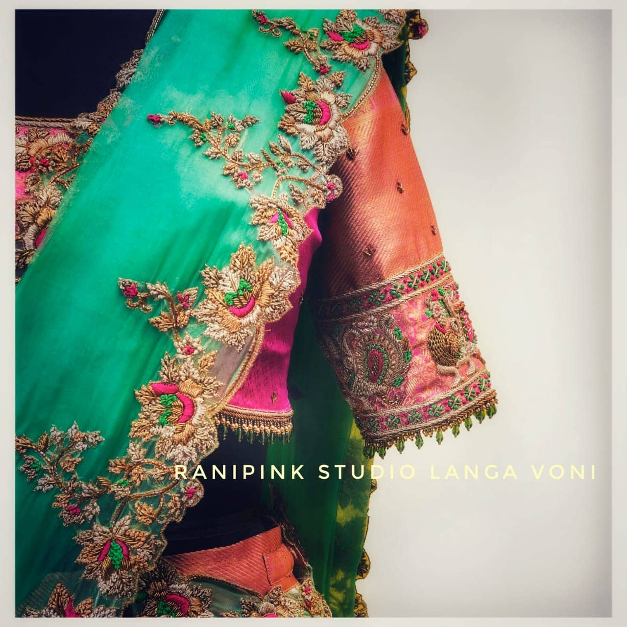 Rani pink studio exquisite collection of Langa Voni.. 2021-04-07