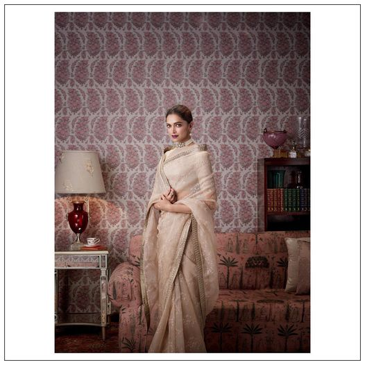 Sabyasachi for Nilaya @worldofnilaya luxury wallpapers.