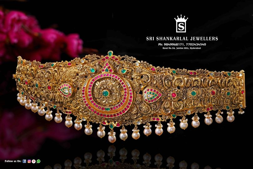 Latest Kundan work Vaddanam and Transparency pricing !