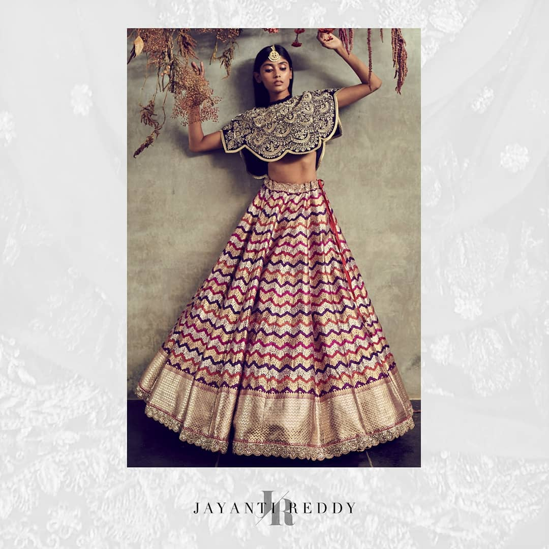 COUTURE 2021.  Rich colors intricate detailing and Benaras lehengas woven with love. The work done here are not only exceptionally delicate but also very precious. 2021-04-08