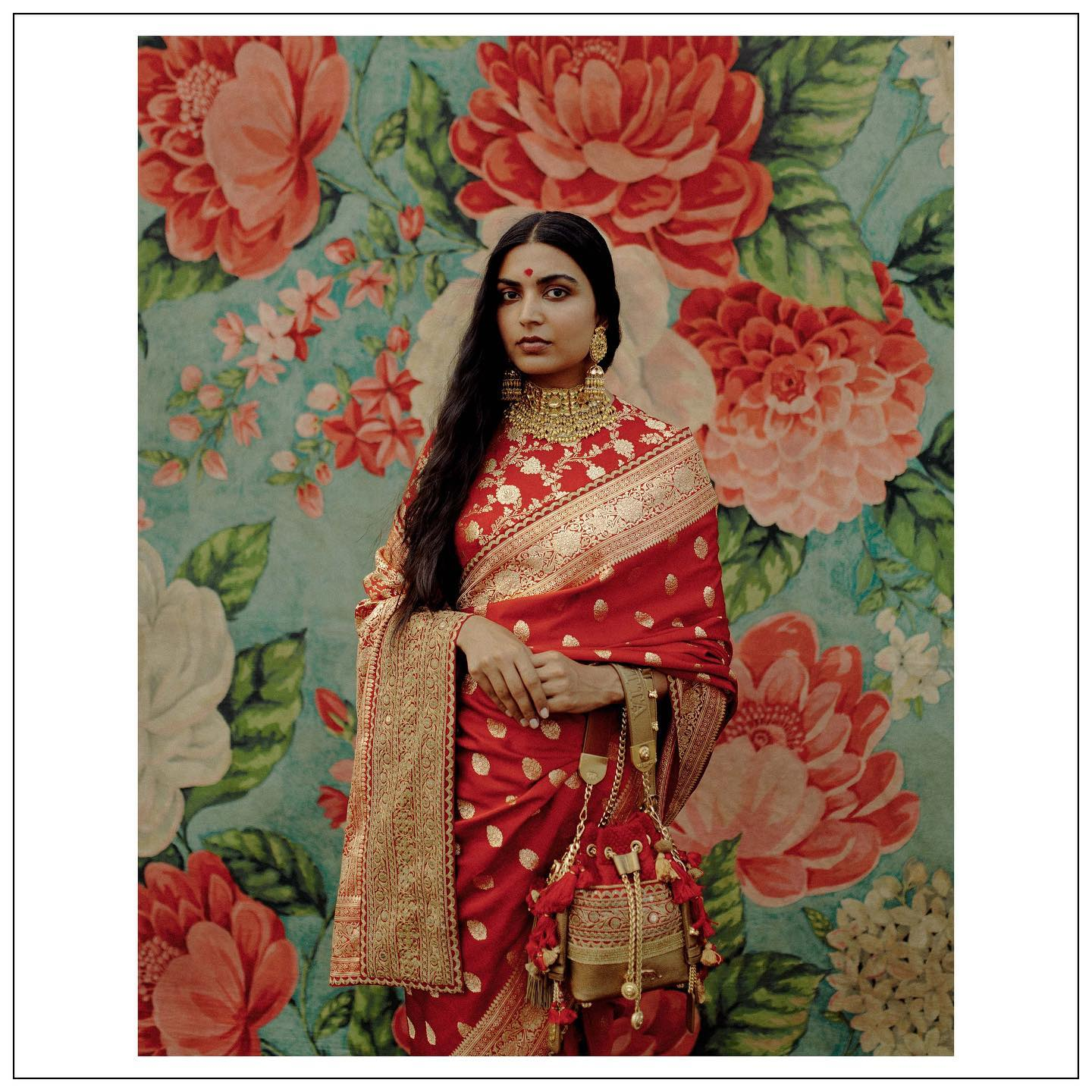 The Sabyasachi 2021 Collection. Beautiful sabyasachi red benarasi saree.