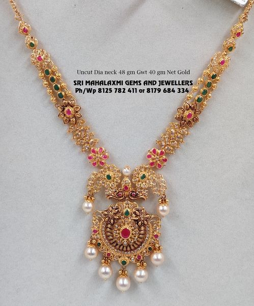 Exclusive designs of necklaces added for wedding season. 2021-04-11