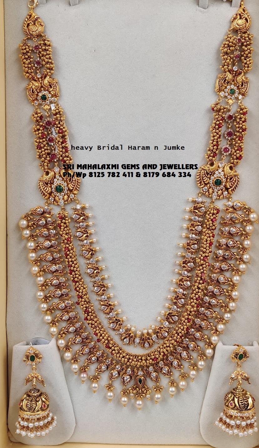 Presenting heavy Bridal Haram here. 2021-04-22