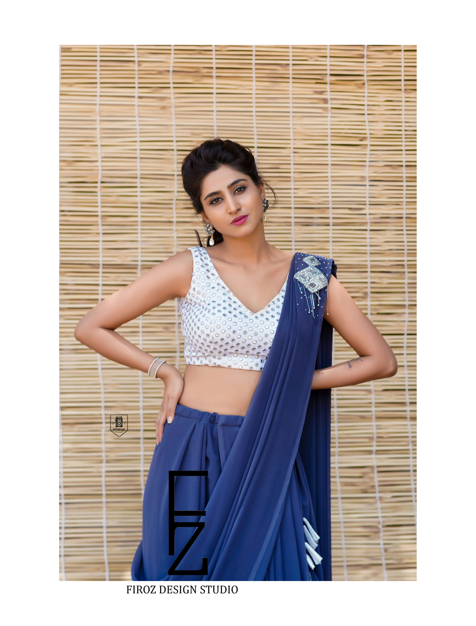 Glamorous Varshini looked beautiful in  Firoz Design Studio outfit. They can customise the colour and size as per your requirements To contact  : 9505340228 / 9553480491. 2021-04-26