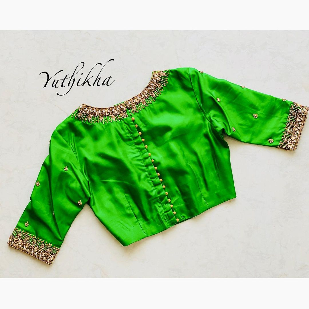 Love  with choker embroidery !!!!