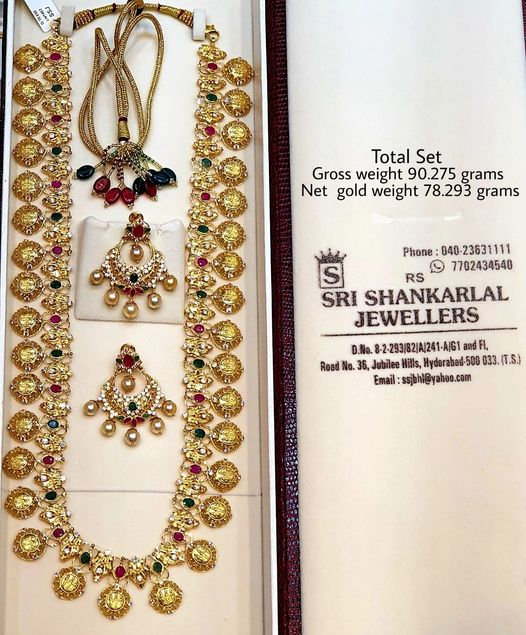 Latest Nakshi Ramparivar with Chandbali in light weight heavy looking JEWELLERY Please visit  on video call 7702434540 //9849968171 //9966118893 to see more collections 2021-05-15