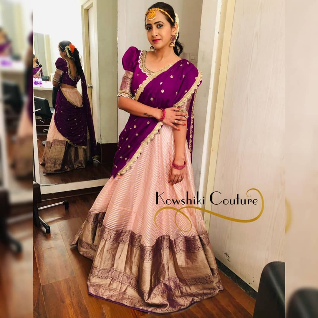 Charming Lasya Manjunath flaunting in  best selling bridal wear!