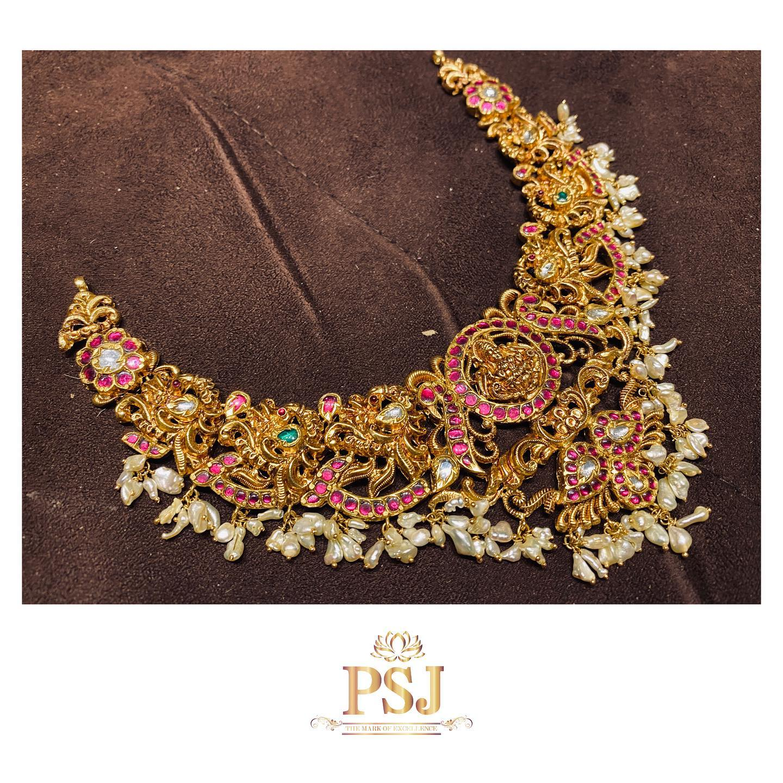Heritage short harrum✨ from Premraj shantilal jain jewellers. 2021-05-19