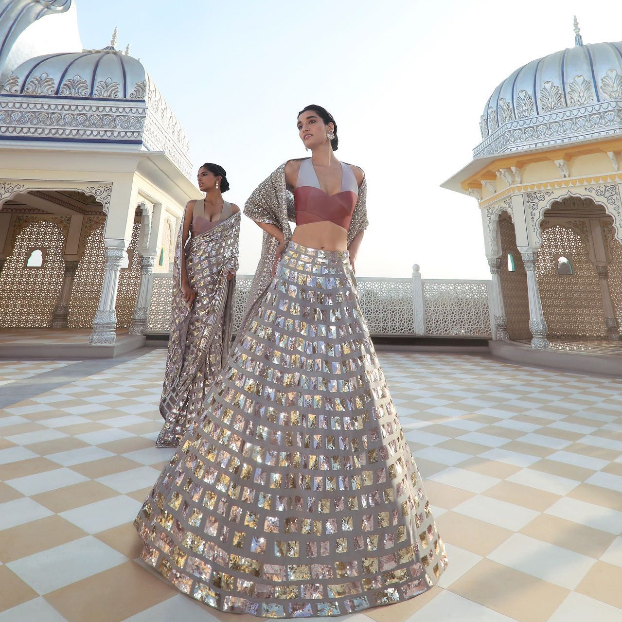 Spelling youthful elegance to our style-savvy women  loud and clear.  Weaving the art of origami geometrical contours a medley of mystifying hues and compelling cuts in the starry sartorial world of Nooraniyat. 2021-06-05
