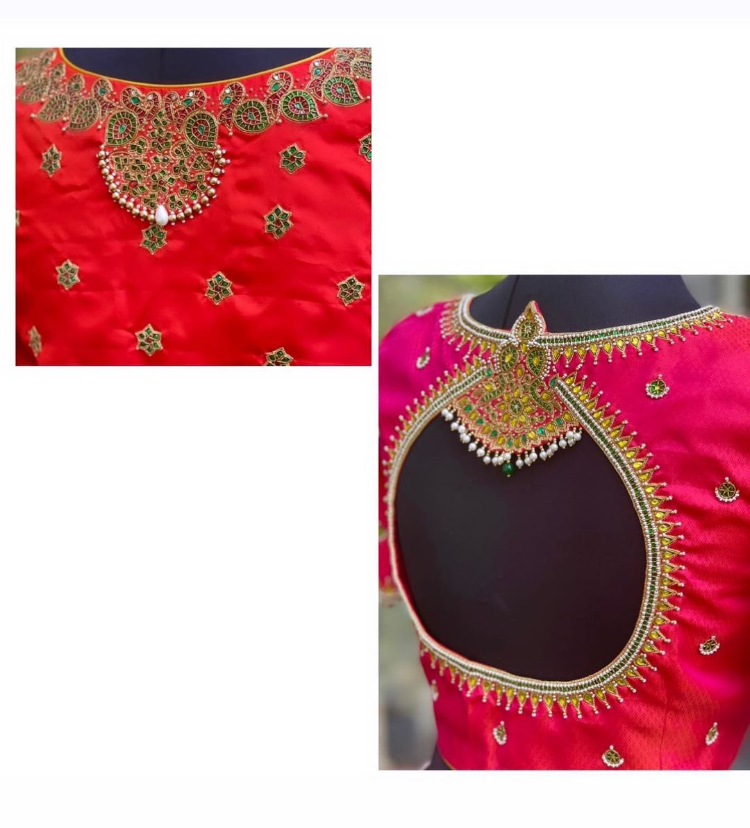 Simple yet appealing designs look way better than they give them credit for. With the right fit your look will be applauded by everybody around you. Kundan detailing done to perfection! 2021-06-06
