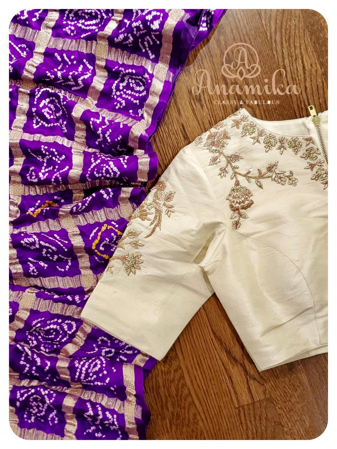 Bandini Gharchola - The most trending sarees in the recent days !!  Now available in 3 splendid colors - paired with beautiful contrast blouses ! DM 360-545-3636 for inquiries  2021-06-15