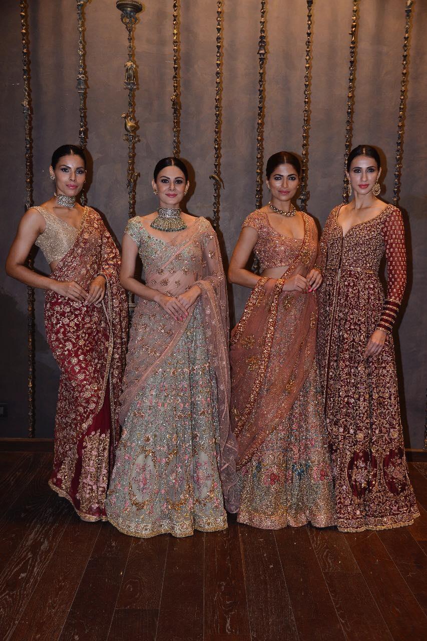 Gorgeous Shyamala and Bhumika bridal saree and lehenga collection. 2021-06-22
