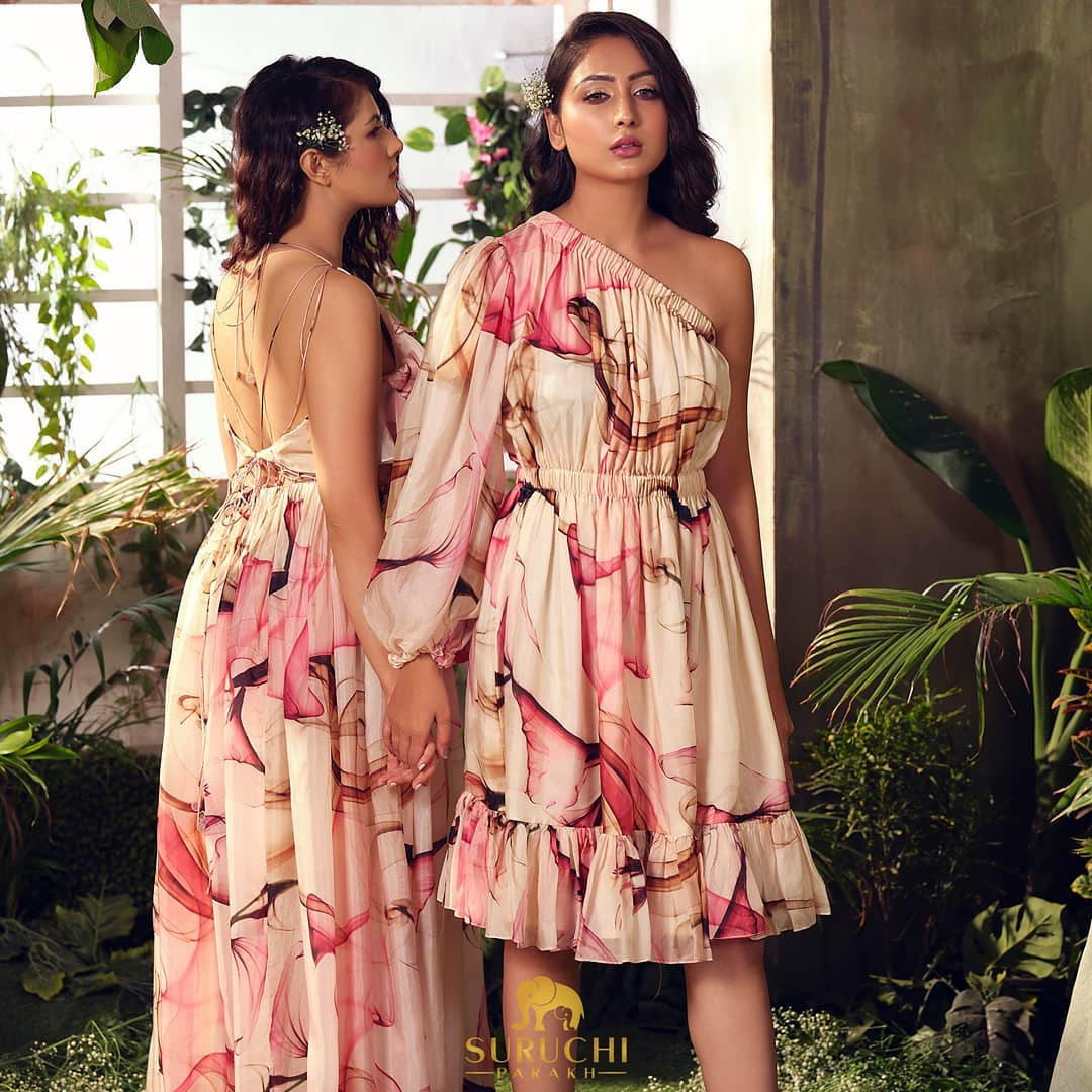 Matching co-ord dresses plucked from the garden of SPC for you to rock the day with your bff!  2021-07-05