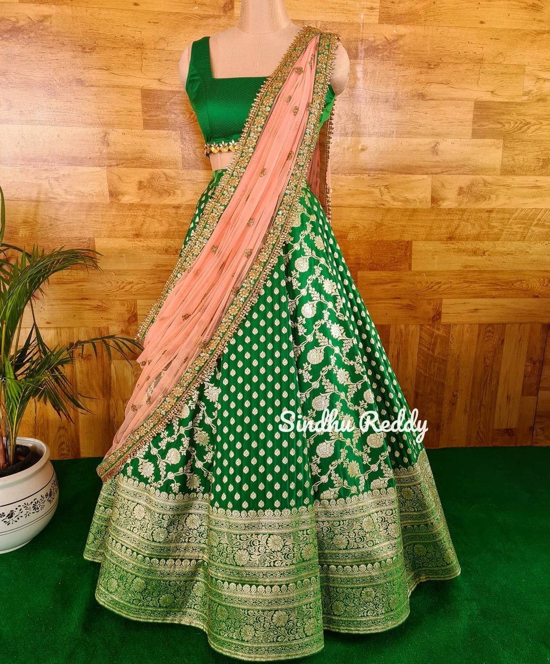 Magnificence of a Banarasi Lehenga !!  If you are enthusiastic about wearing a wedding Lehenga that is not heavy but rather still looks lofty at that point a Banarasi silk Lehenga is your go-to decision! 2021-07-09