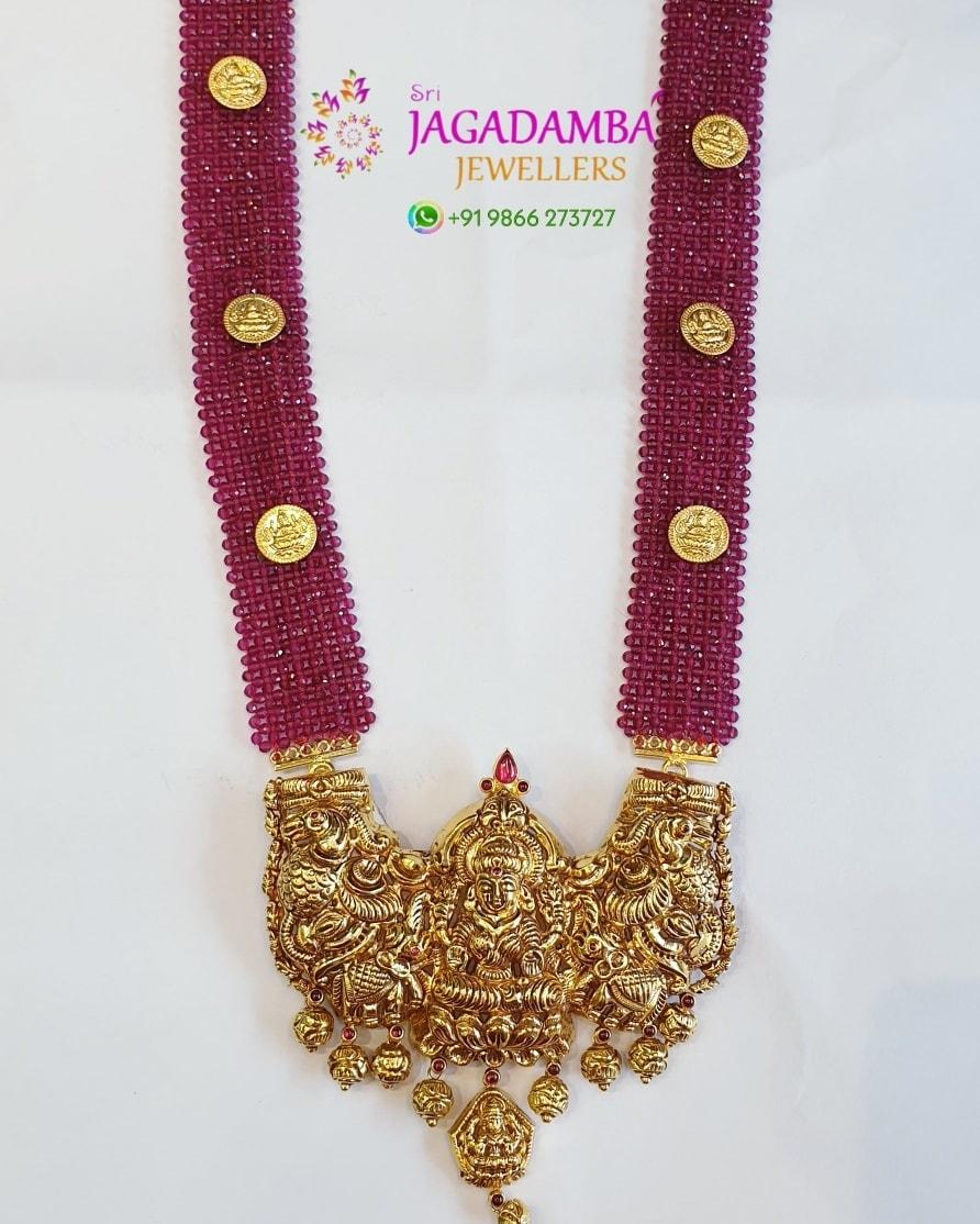 Divine collection Net 31gm Detachable locket  To buy online Whatsapp +919866273727 2021-07-10