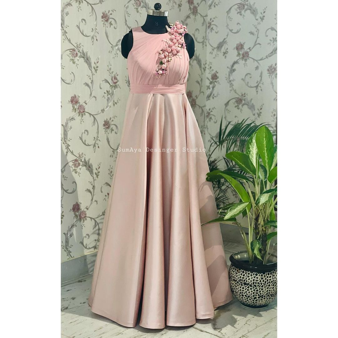 Pretty drop gown. Call  for more details