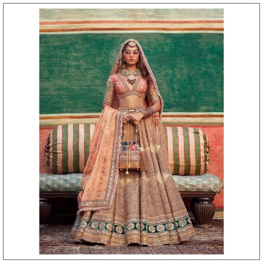 The Sabyasachi 2021 Collection. Stunning Sabyasachi bridal lehenga set.  Womenswear  jewellery  and accessories .  For all product related queries please email  at customerservice@sabyasachi.com or contact  retail stores directly. 2021-07-30
