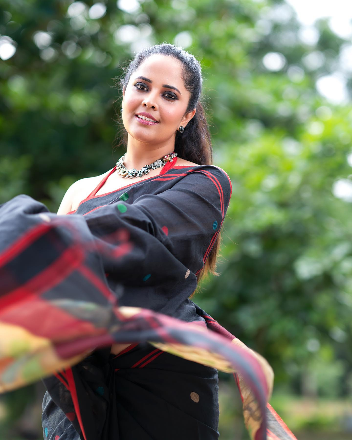 Beautiful Anasuya Bardwaj in for Jabardasth. 2021-08-06