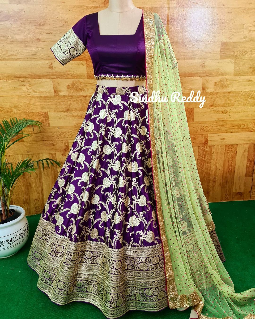 Magnificence of a Banarasi Lehenga  If you are enthusiastic about wearing a wedding Lehenga that is not heavy but rather still looks lofty  at that point a Banarasi silk Lehenga is your go-to decision! 2021-08-21