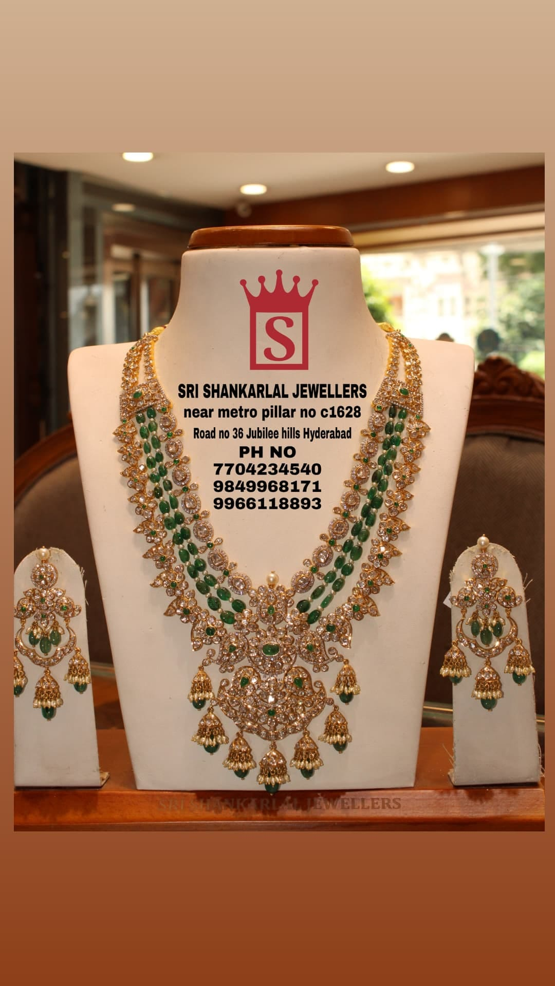 Latest pachi haram with chadballi wedding jewellery in light weight and heavy looking jewellery and vast collection Please visit  on video call Phone number 7702434540 /9849968171/9966118893. 2021-08-24