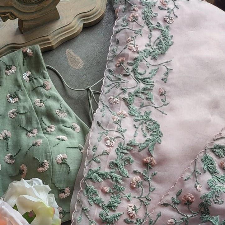 Dutch Garden Dori Sari!  Please contact sales team at 9899070899 for orders and enquiries 2021-08-27