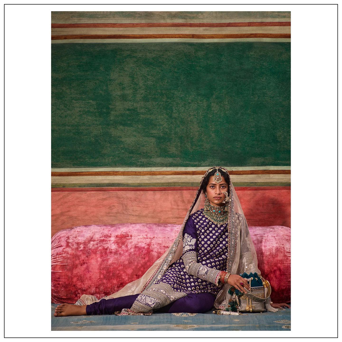 Stunning purple color floor length bridal kurti dress. The New Collection.  Womenswear and jewellery Sabyasachi jewelry.  For all product related queries please email  at customerservice@sabyasachi.com or contact retail stores directly. 2021-09-06